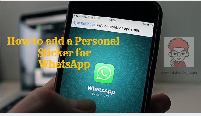 How to add a personal sticker for WhatsApp and Diwali sticker